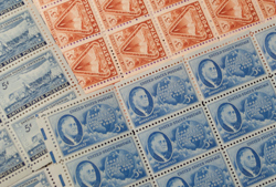 stamps awaiting appraisal